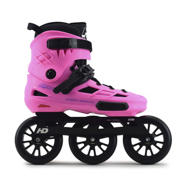 Patins Urbano HD Inline New Skull 2021 110mm Abec-7 Rosa