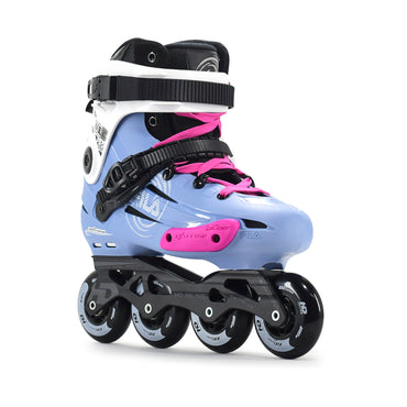 Patins Urbano Fila Nrk Pro Light Blue 80mm Abec-7 Custom Rosa