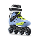 Patins Urbano Fila Nrk Pro Light Blue 80mm Abec-7 Custom Verde