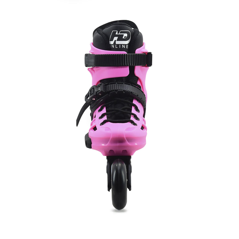 Patins Urbano HD Inline New Skull 2021 80mm Abec-9 Rosa