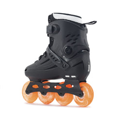 Patins NRK Pro All Black F20 Rodas Mellon 80mm 85A Abec7 Laranja
