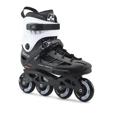 Patins Urbano HD Inline New Skull 2021 80mm Abec-9 Black Branco
