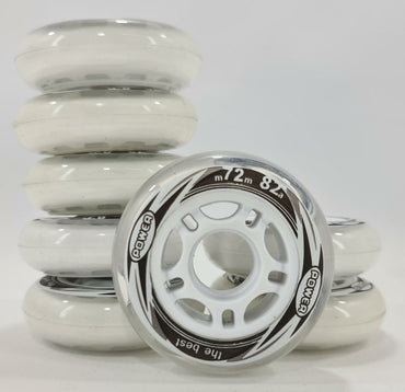 8 Rodas 72mm 82A Power Inline