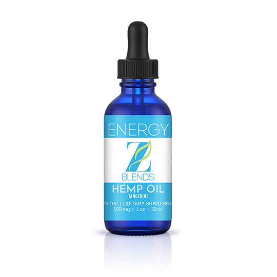 Wellness Pak - Z-Blends Hemp Oil - Energy