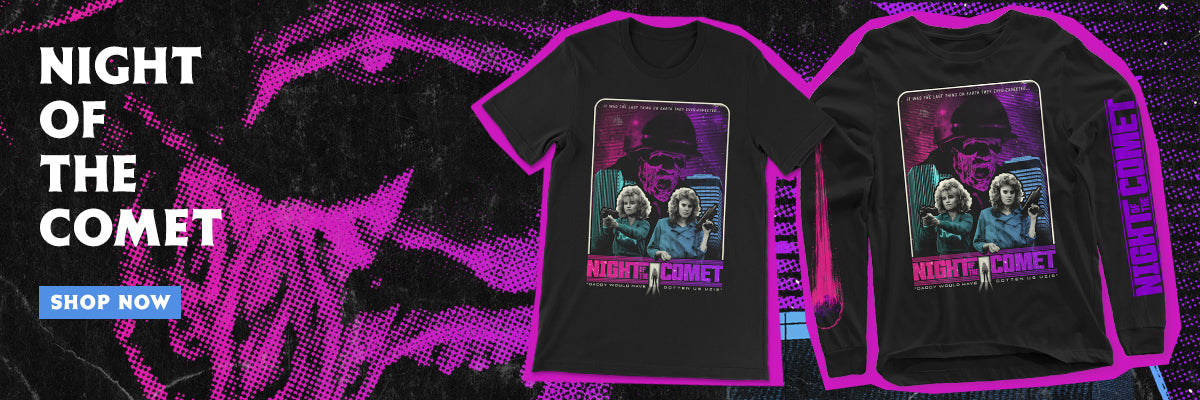 Night of the Comet shirts