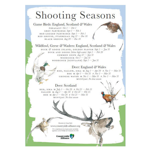 Shooting Seasons Poster