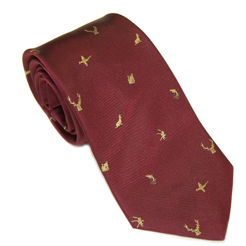 Burguny countryside alliance tie