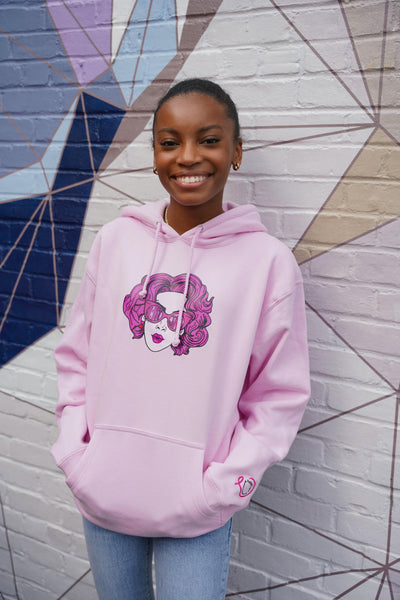 Pink Lady Breast Cancer Awareness Hoodie