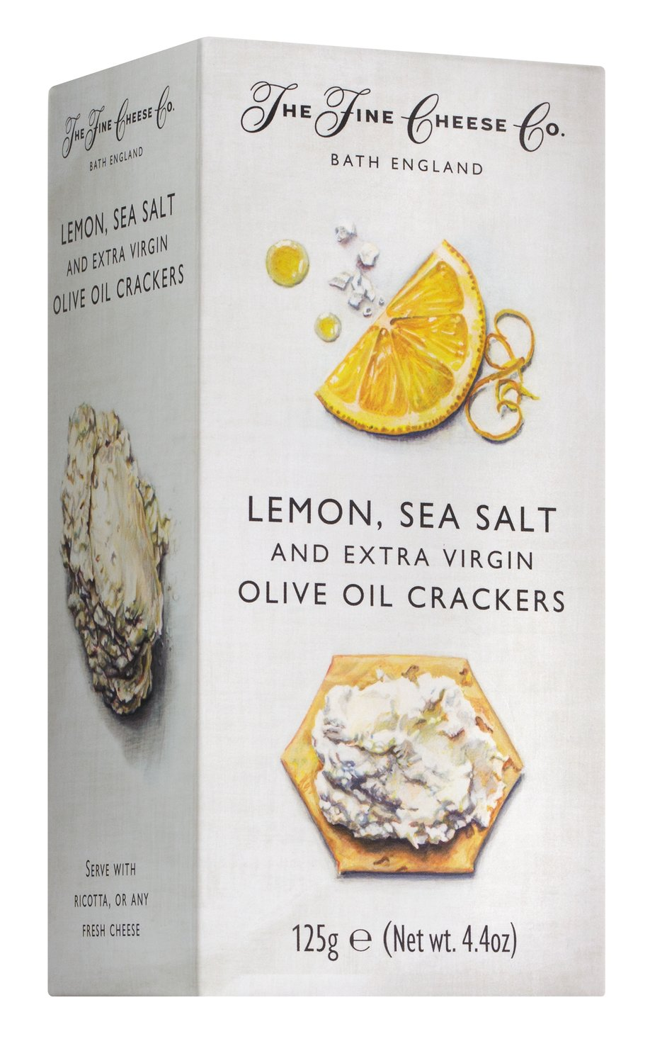 Lemon, Sea Salt & Olive Oil Crackers