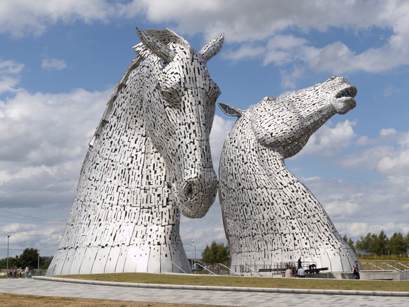 the Kelpies 906, the Helix, Falkirk , Scotland