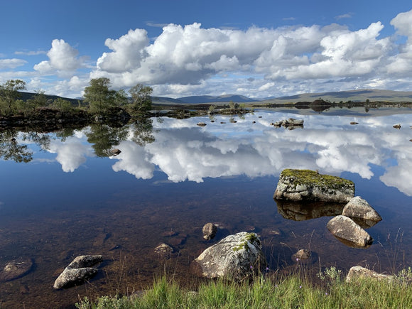 Lochan na - h Achlaise 2378 ,  the Black Mount,the Highlands, Scotland