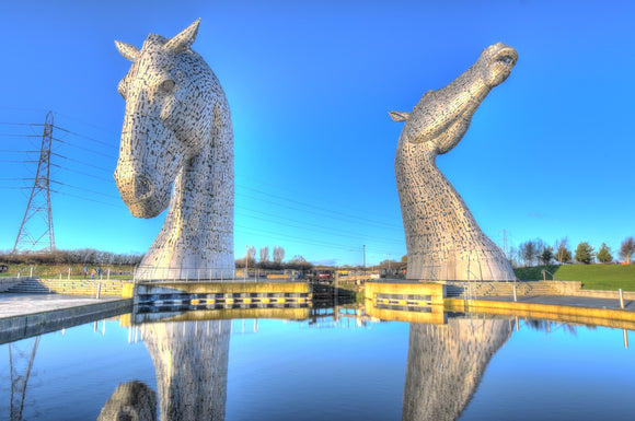 The Kelpies HDR