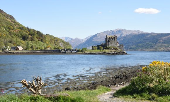 Eilean Donan Castle 40 in the Highlands of Scotland