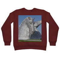 the Kelpies 1121, the Helix , Falkirk , Scotland Retail Sweatshirt