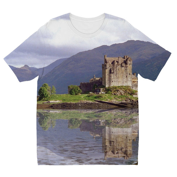 Eilean Donan Castle 37 Kids' Sublimation T-Shirt