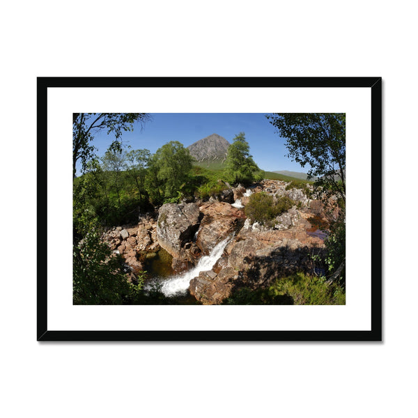 Glencoe 253, the Highlands , Scotland Framed & Mounted Print