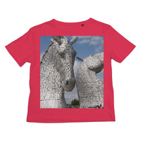the Kelpies 906, the Helix, Falkirk , Scotland Kids Retail T-Shirt