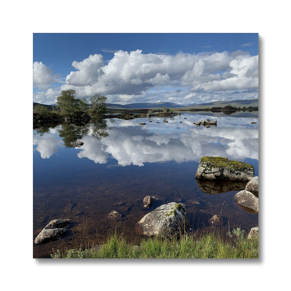 Lochan na - h Achlaise 2378 ,  the Black Mount,the Highlands, Scotland Canvas