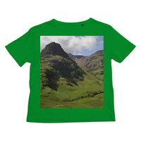 Glencoe 64 , the Highlands of Scotland Kids Retail T-Shirt