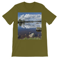 Lochan na - h Achlaise 2378 ,  the Black Mount,the Highlands, Scotland Unisex Short Sleeve T-Shirt