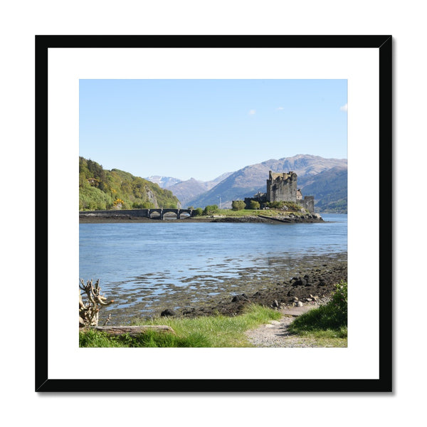 Eilean Donan Castle 40 in the Highlands of Scotland Framed & Mounted Print