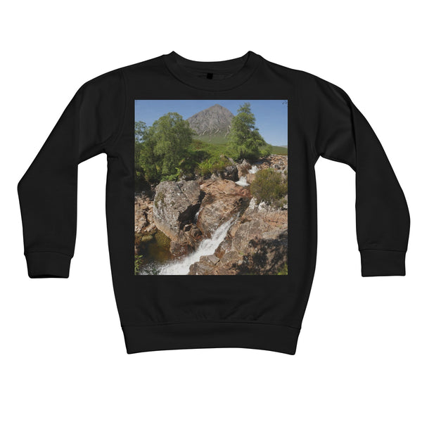 Glencoe 253, the Highlands , Scotland Kids Retail Sweatshirt