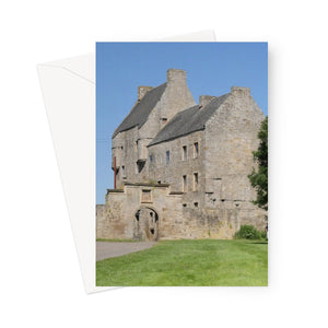 Lallybroch Castle , Outlander Greeting Card