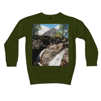 Buachaille Etive Mor, the Highlands Kids Retail Sweatshirt