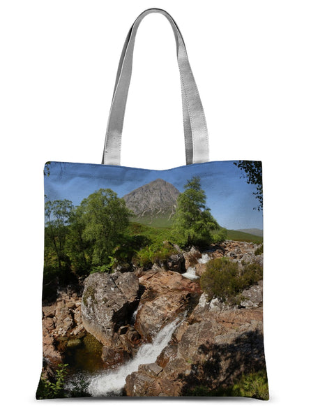 Glencoe 253, the Highlands , Scotland Sublimation Tote Bag