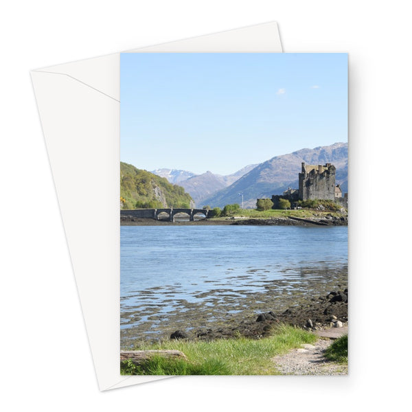 Eilean Donan Castle 40 in the Highlands of Scotland Greeting Card