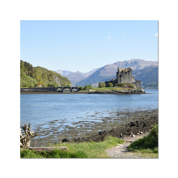 Eilean Donan Castle 40 in the Highlands of Scotland C-Type Print