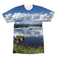Lochan na - h Achlaise 2375 ,  the Black Mount,the Highlands, Scotland Sublimation T-Shirt