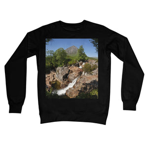 Glencoe 253, the Highlands , Scotland Crew Neck Sweatshirt