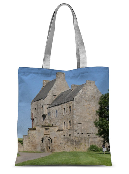 Lallybroch Castle , Outlander Sublimation Tote Bag