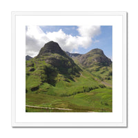 Glencoe 64 , the Highlands of Scotland Framed & Mounted Print , Glencoe  Prints