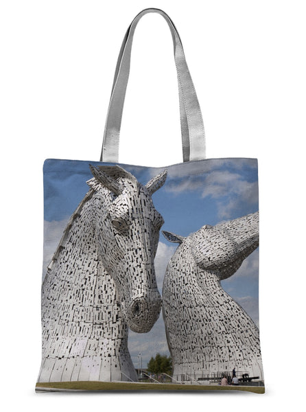 the Kelpies 906, the Helix, Falkirk , Scotland Sublimation Tote Bag