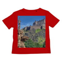 Edinburgh Castle 98 Kids Retail T-Shirt