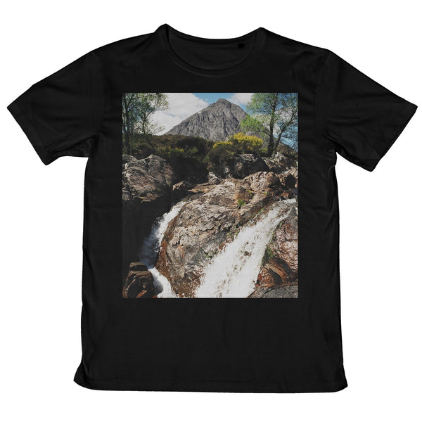 Buachaille Etive Mor, the Highlands Mens Retail T-Shirt
