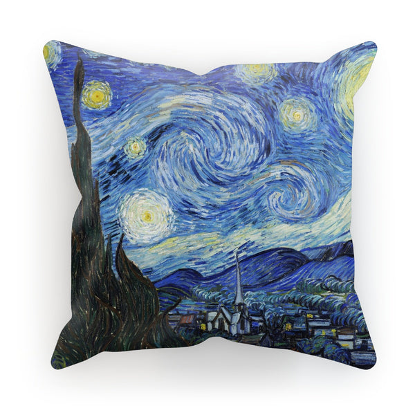 The Starry Night by Vincent Van Gogh Cushion