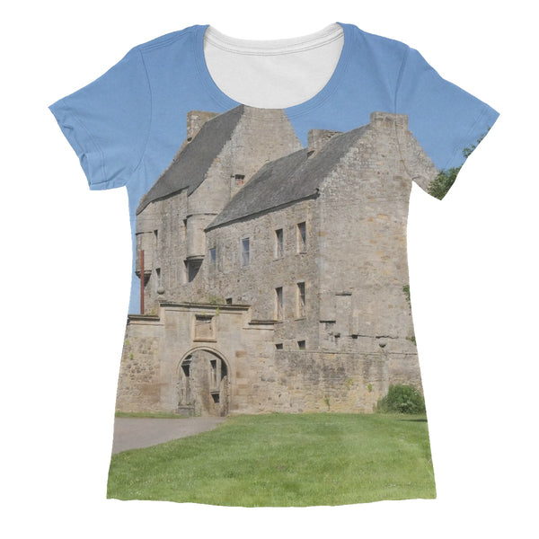 Lallybroch Castle , Outlander Women's Sublimation T-Shirt