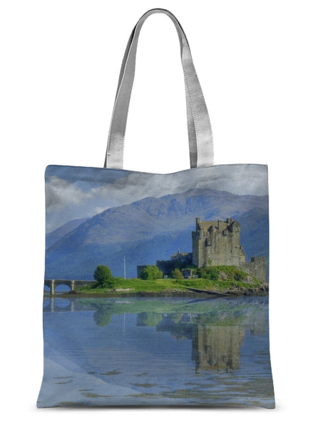 Eilean Donan Castle 80 Sublimation Tote Bag