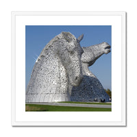 the Kelpies 1121, the Helix , Falkirk , Scotland Framed & Mounted Print