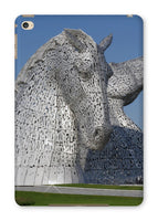 the Kelpies 1121, the Helix , Falkirk , Scotland Tablet Cases