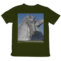 the Kelpies 1121, the Helix , Falkirk , Scotland Mens Retail T-Shirt