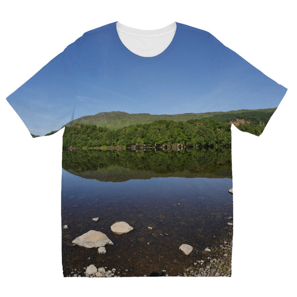 Loch Lubhair 243, the Highlands, Scotland Kids' Sublimation T-Shirt