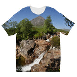 Glencoe 253, the Highlands , Scotland Kids' Sublimation T-Shirt