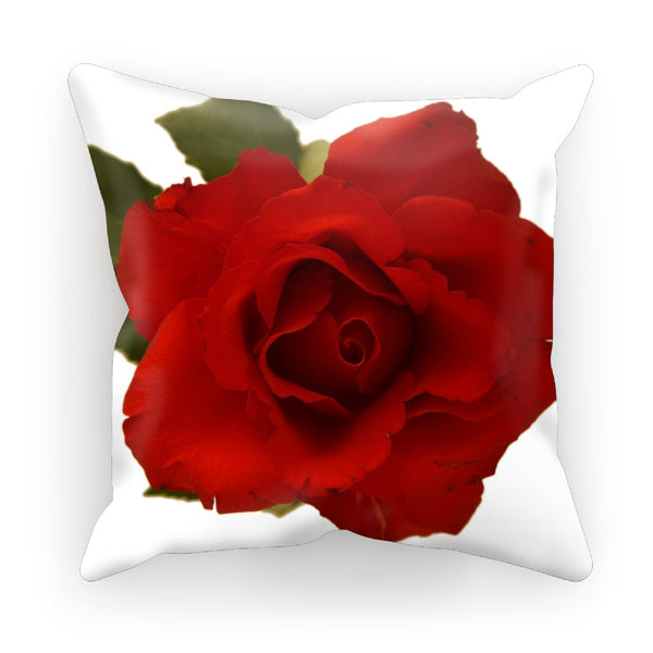 Red rose Cushion, floral cushion , Rose Throw Pillows