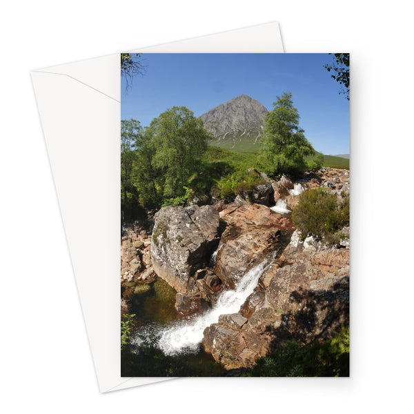Glencoe 253, the Highlands , Scotland Greeting Card
