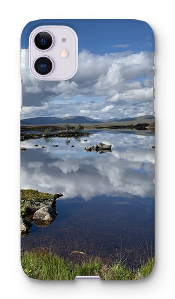 Lochan na - h Achlaise 2375 ,  the Black Mount,the Highlands, Scotland Phone Case