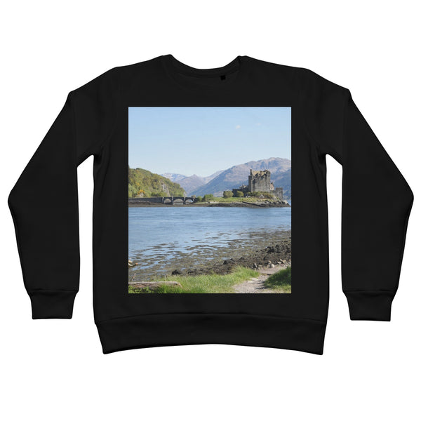 Eilean Donan Castle 40 in the Highlands of Scotland Retail Sweatshirt